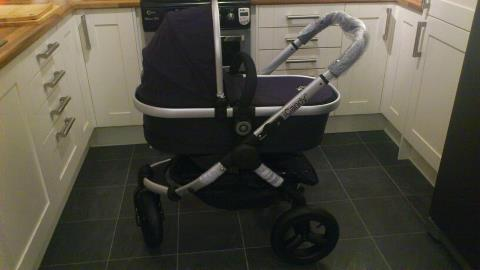 New pram…..and I'm a little bit in love!