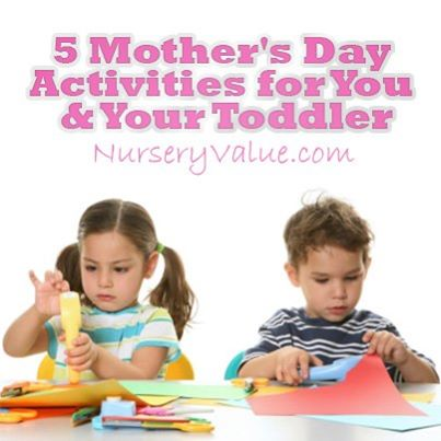 Guest post with Nursery Value – Mother's day activities
