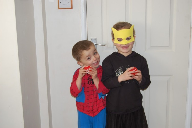 Dress as a Superhero for Comic Relief