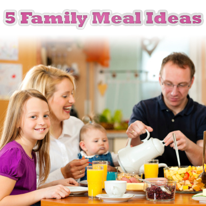 Guest post – Family Meal Ideas