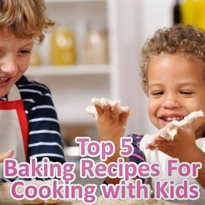 Top 5 'Baking with Kids' recipes – with Nursery Value