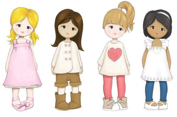 'Little Us' dolls giveaway