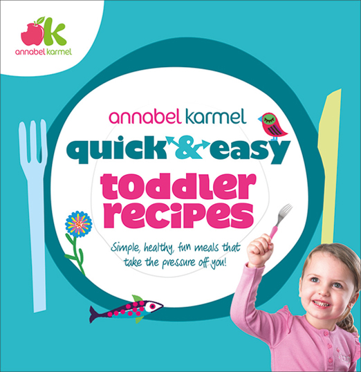 Quick and Easy toddler recipes (Annabel Karmel) – review
