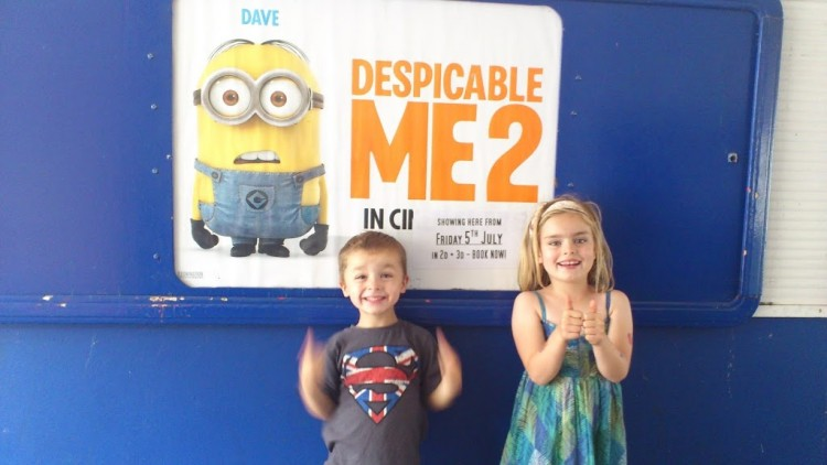 Despicable Me 2 – film review courtesy of Bazooka Candy