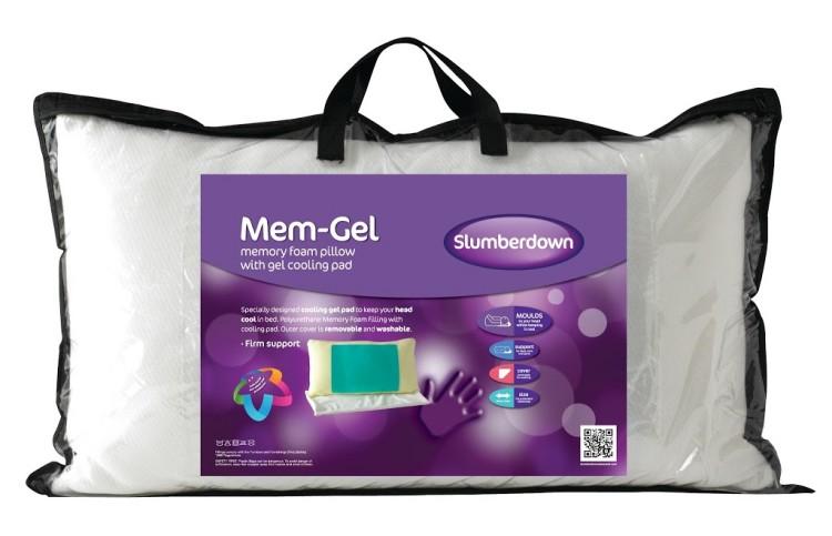 Slumberdown Mem-Gel pillow with inbuilt cooling system – review