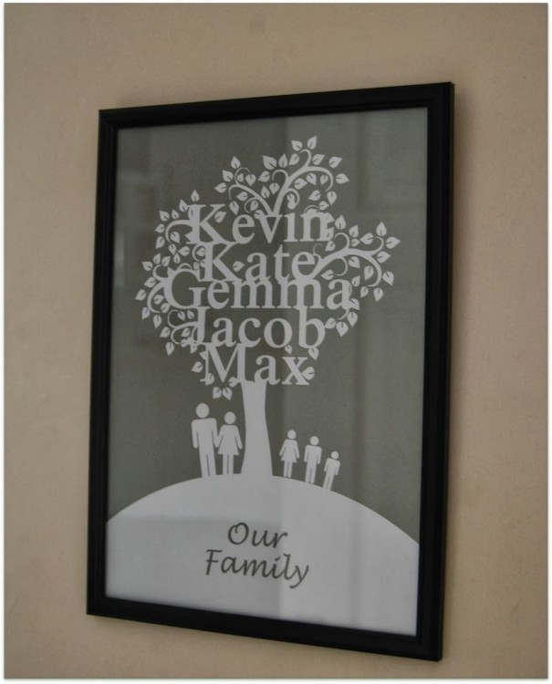 A Word of Art family tree – review and giveaway