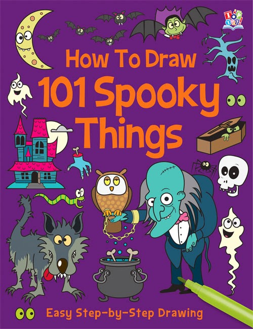 Spooky drawings for Halloween