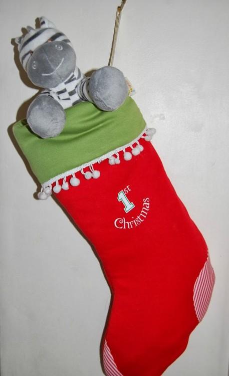 Funky Giraffe Christmas Stocking review