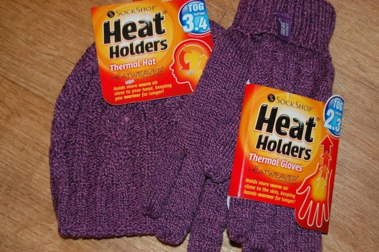 Heat Holders thermal hat and gloves review