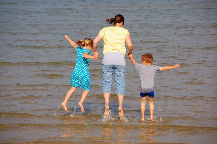 Taking a family holiday in term time.