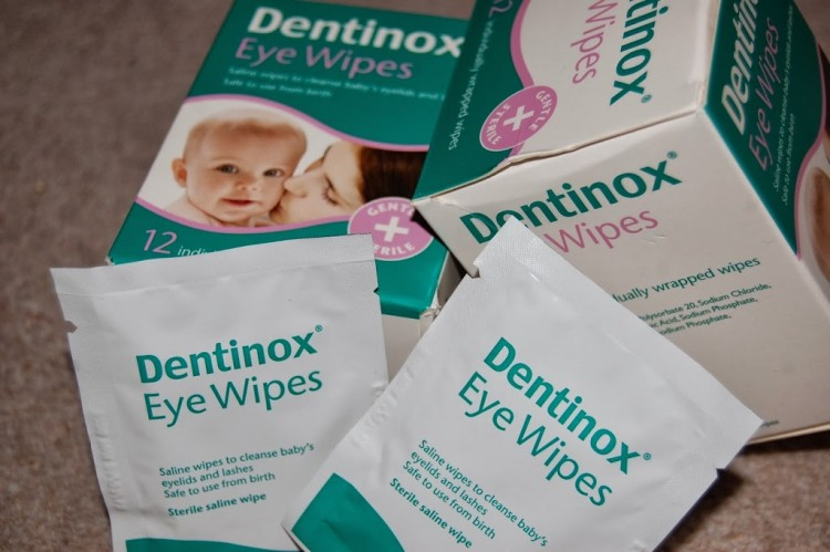Dentinox eye wipes review