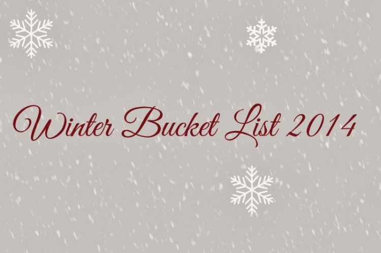 New Year, new bucket list