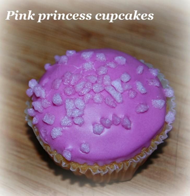 Pink Princess cupcakes recipe