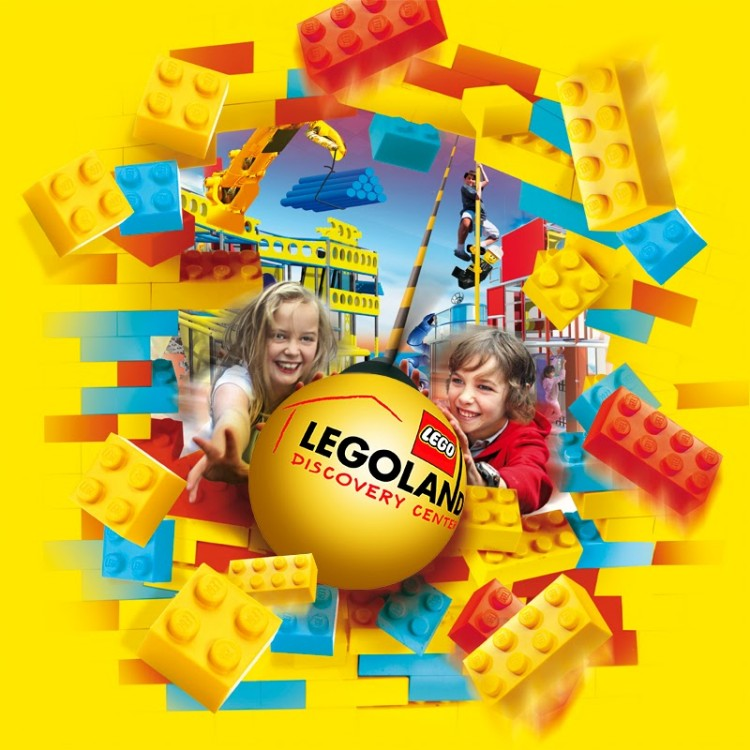 Win a family ticket to the LEGOLAND Discovery Centre
