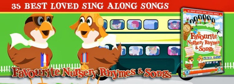 Nursery Rhymes and Childrens songs DVD giveaway