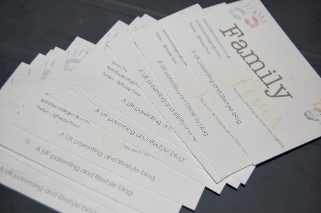 123 Print business cards review and giveaway - Family Fever