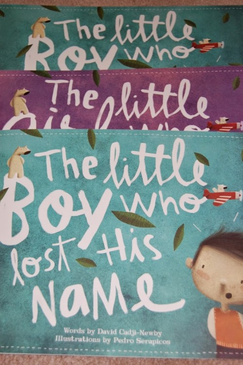 Give a book this Easter – Lost my name book review