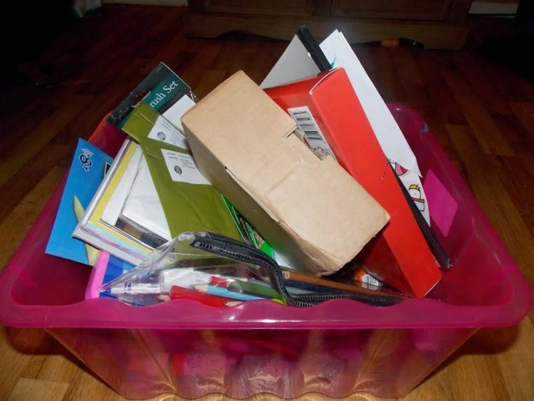 What's in your craft box? A guest post