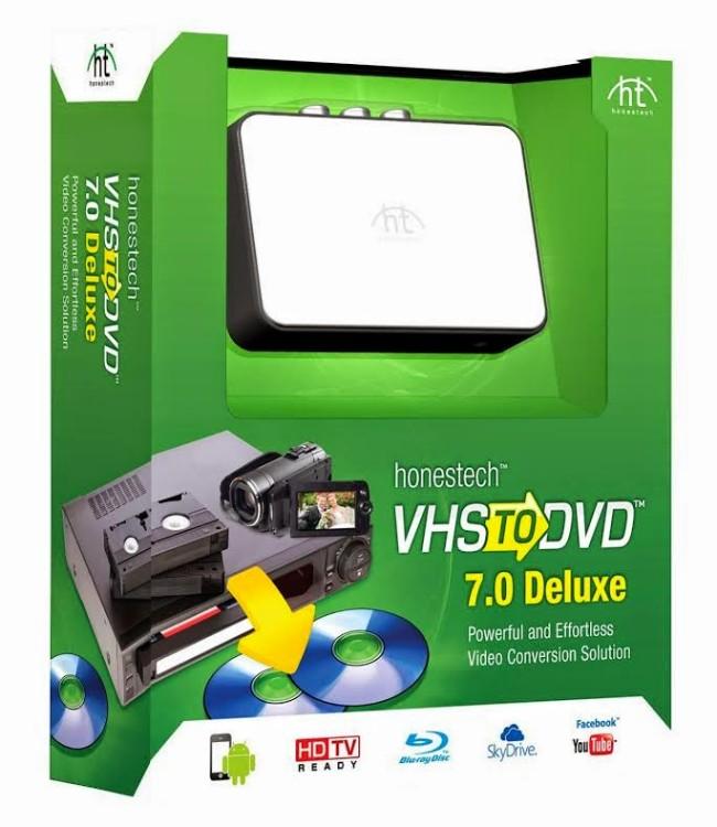 Giveaway – win an Honestech VHS to DVD converter