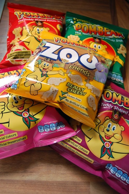 Pom Bear snacks review and giveaway