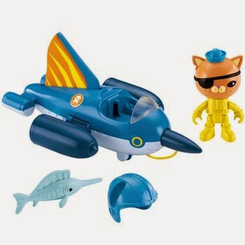 Octonauts Gup-R toy review