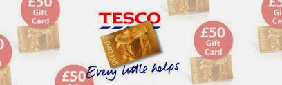 Giveaway – win a £50 Tesco gift card