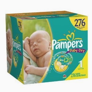 Giveaway – win Pampers nappies with Tesco Loves Baby