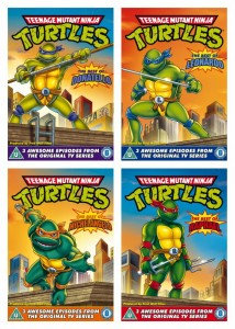 TMNT Original Series DVD collage