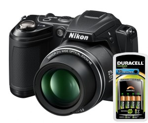 Duracell and Nikon camera review