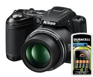 Duracell and Nikon camera review