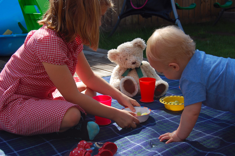 House of Fraser teddy bear picnic