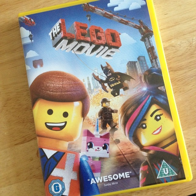 We are watching this :) #LegoMovie #everythingisawesome