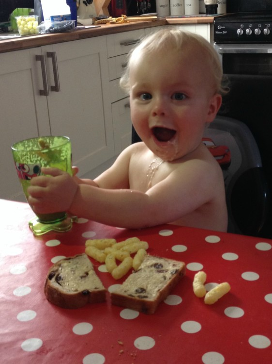 Toddler tea time triumphs