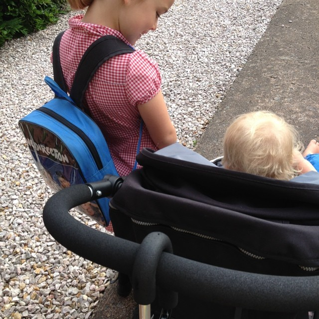 Tagged by @chelseamamma #widn - the school run! I tag @mymummyspennies and @lifewithasd - what are you guys up to?