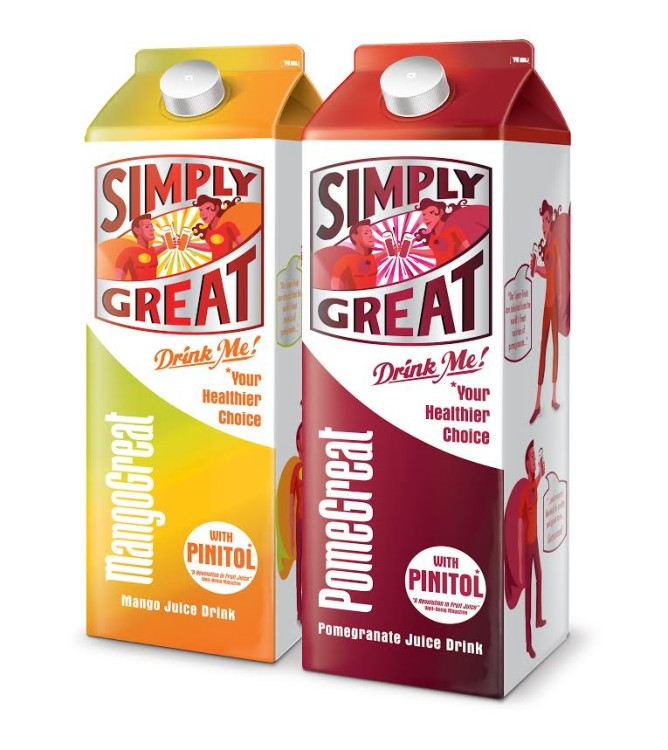 Giveaway – a months supply of Simply Great juice