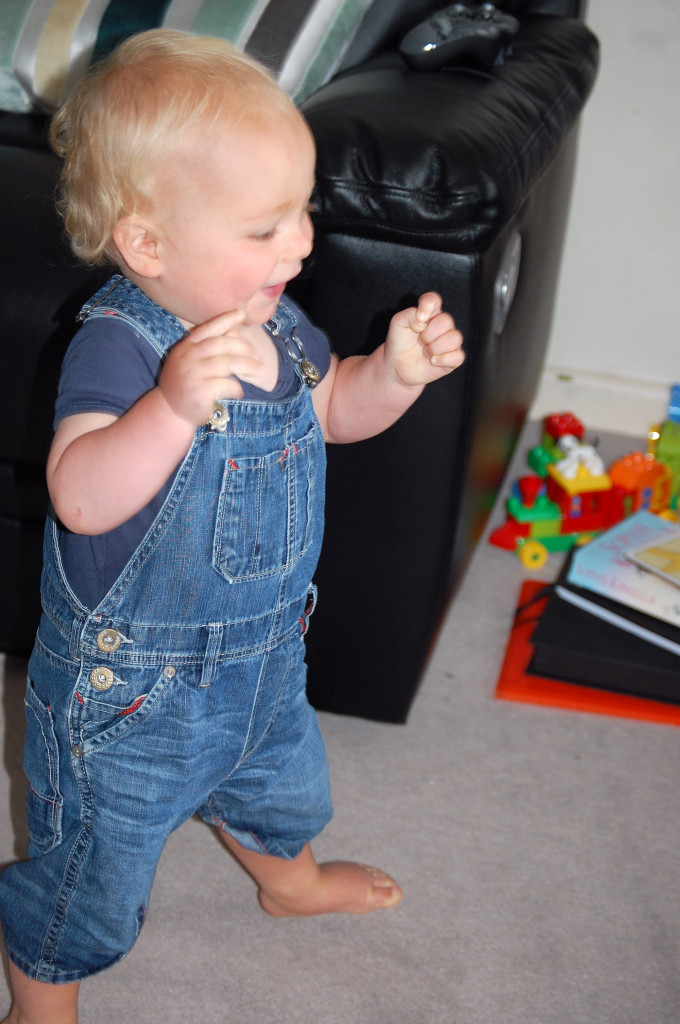 Max's first steps