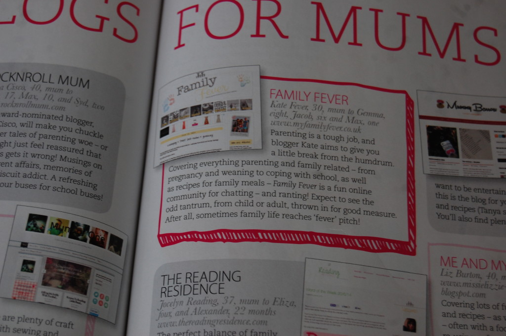 Featured in At Home magazine
