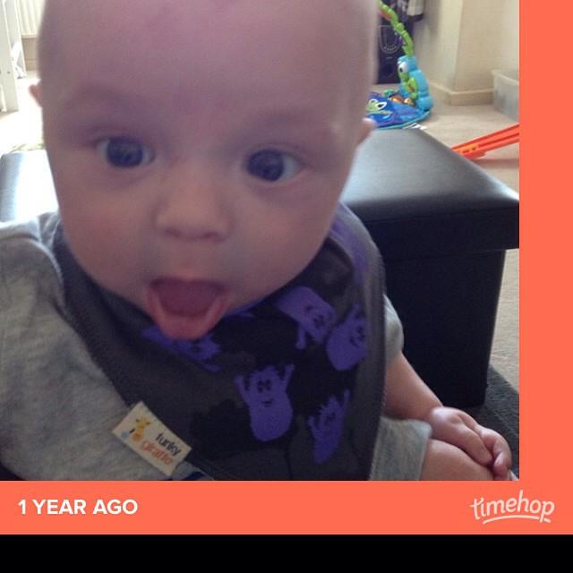 Ha ha, this face! #timehop