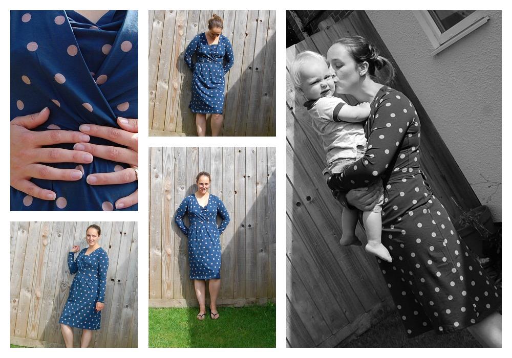 Frugi breastfeeding dress review