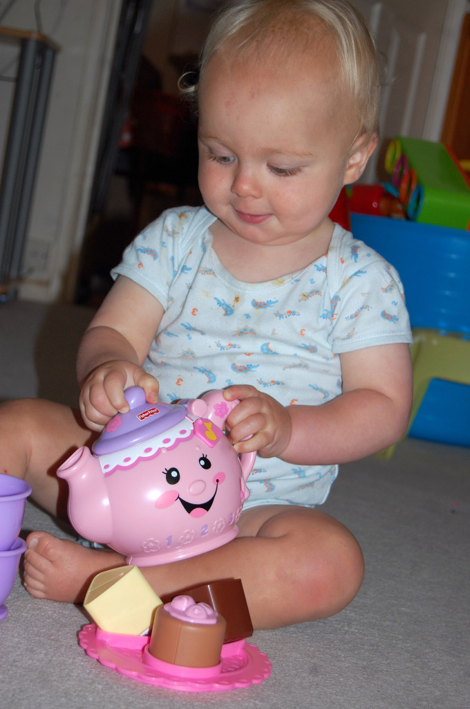Fisher Price Laugh and Learn tea set review
