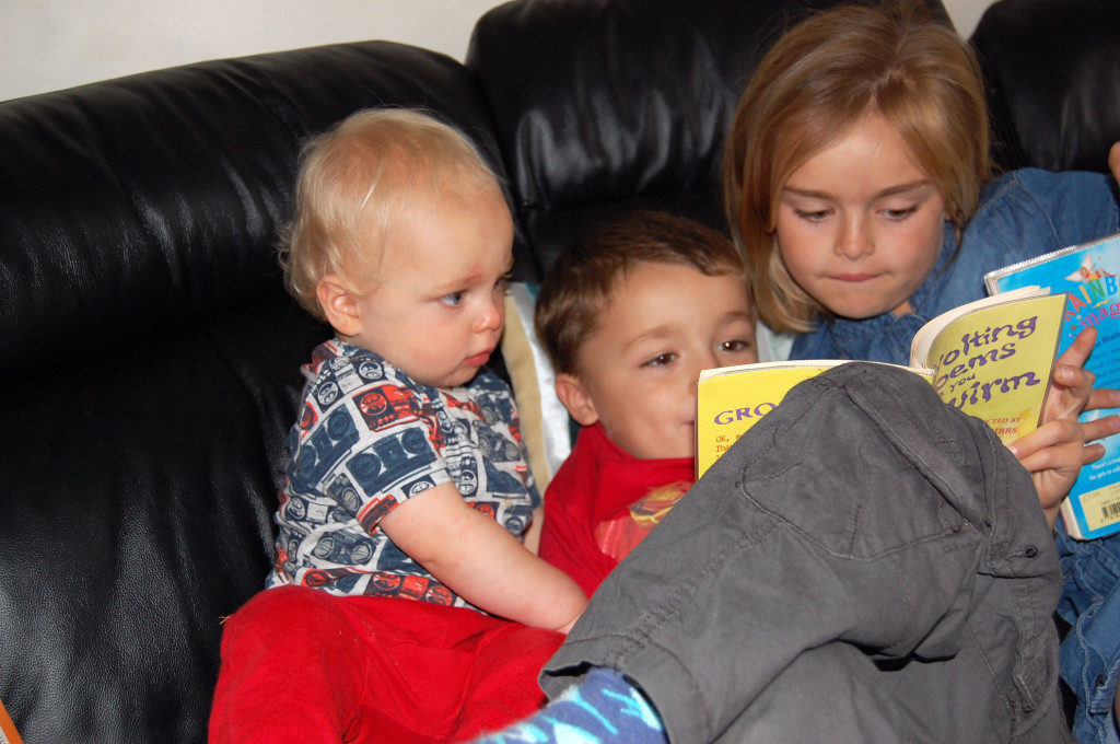 Bedtime routine - reading