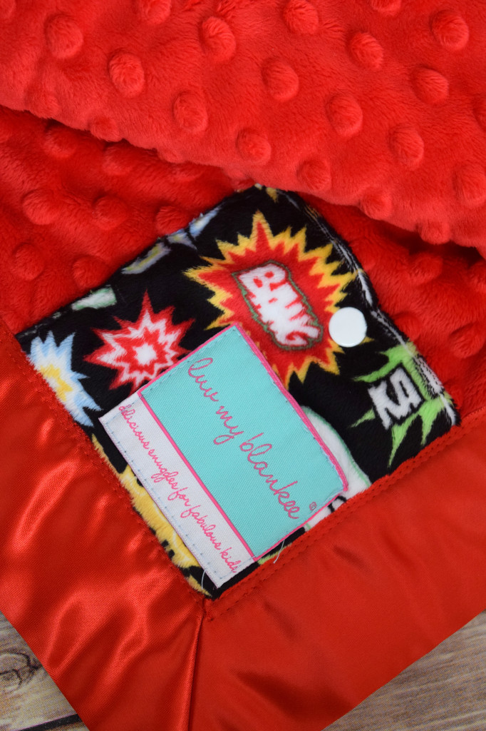 Luv My Blankee review and giveaway
