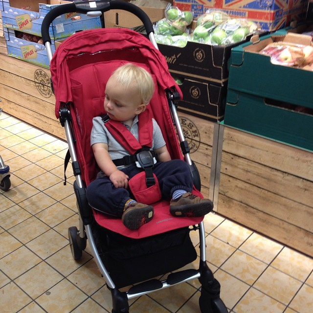 The @casualplay Livi is perfect for nipping round the shops