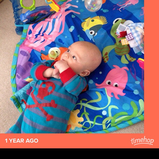 Teeny Max. Time flies  #timehop