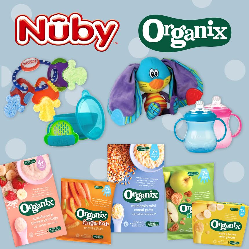Nuby and Organix giveaway