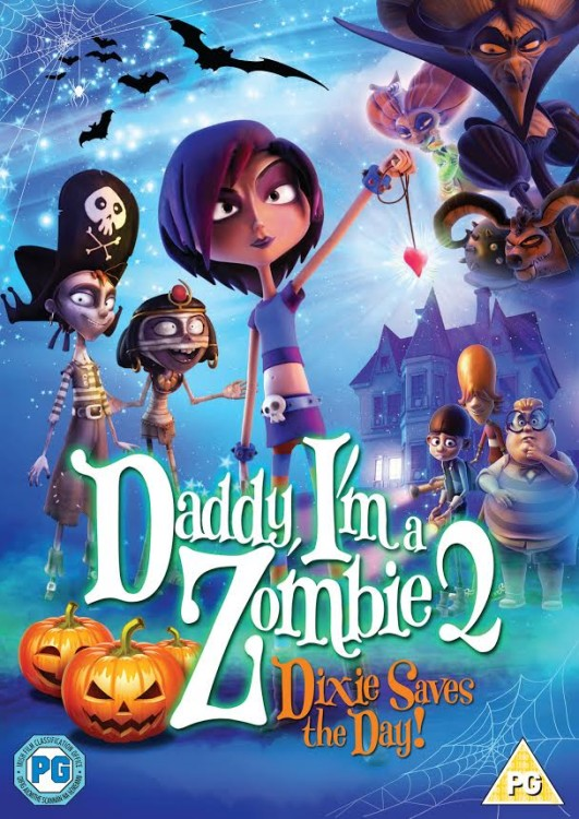 Giveaway – win a copy of 'Daddy, I'm a Zombie 2!' on DVD