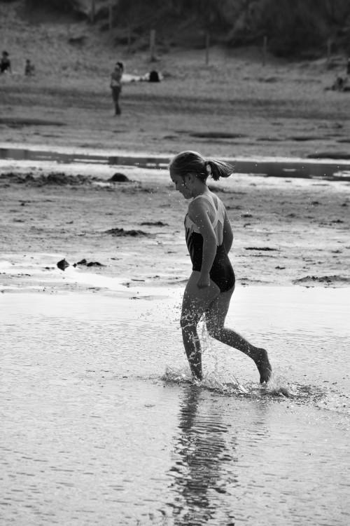Silent Sunday, beach