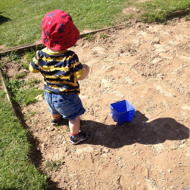 Fun in the sandpit