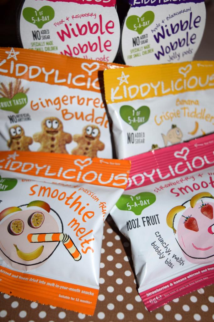 Kiddylicious snacks