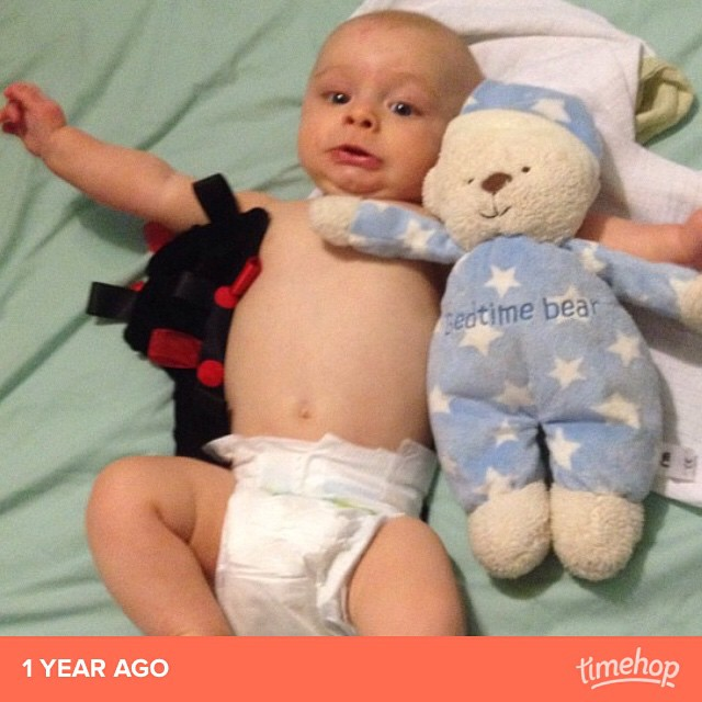 Lol his face! #timehop
